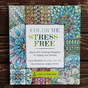 Color Me Stress-Free Coloring Book